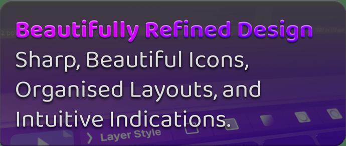 refined design