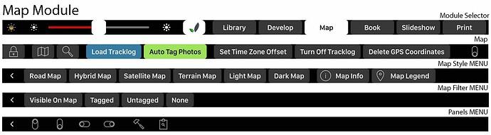 Lightbar map