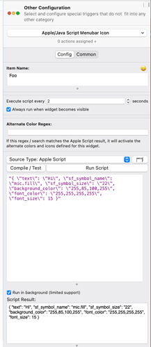 Script result defines a different SF symbol