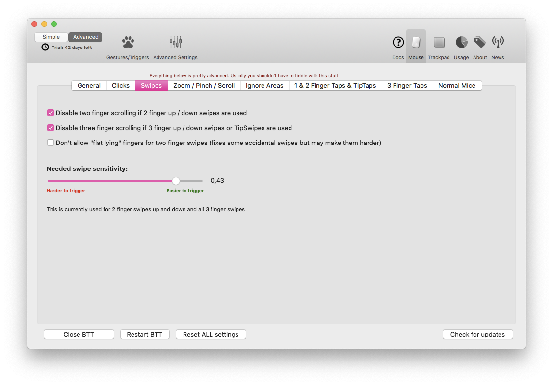 Magic Mouse stops scrolling - Bug Reports - BetterTouchTool