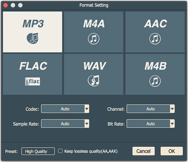 audio-select-output-format